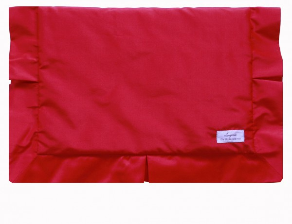 Lingerie Bag Weekend chic red