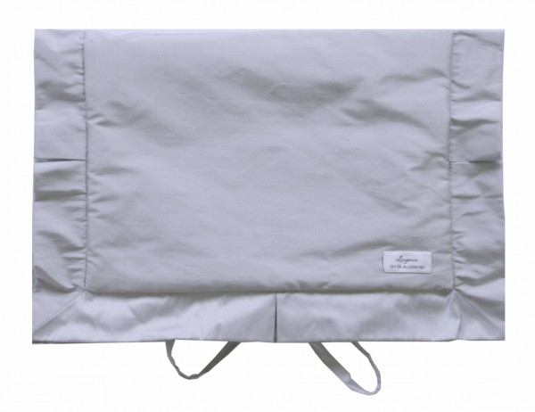 Lingerie Bag Weekend chic silver