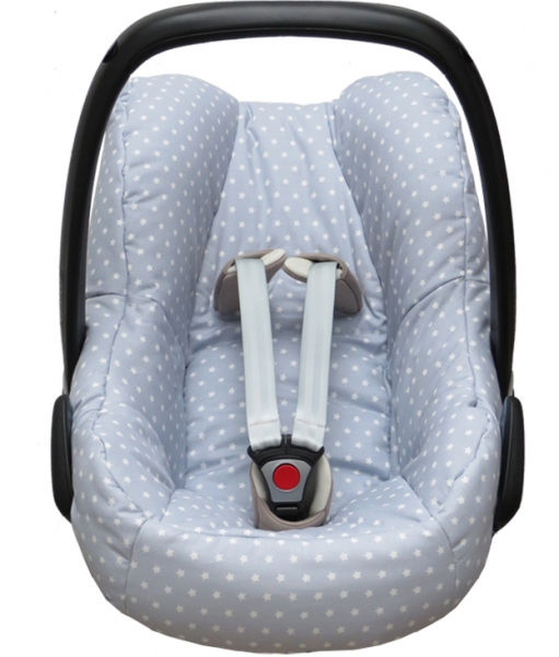 Maxi Cosi Pebble cover in grey with stars